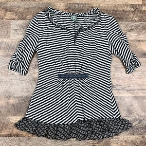 Anthropologie Brand One Sunday Striped Top Size S